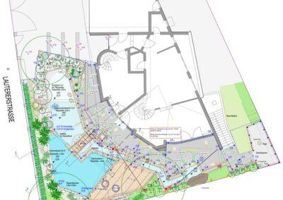Plan von Landschaftsarchitektur-Büro Wendler in Schondorf am Ammersee