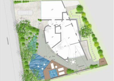 Plan von Hubert Wendler aus Schondorf