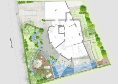 Planung der Lautererstraße - Landschaftsarchitekt Wendler in Schondorf