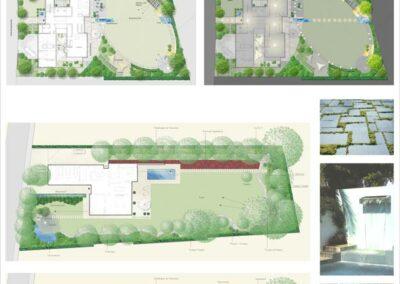 Planung von Hausgärten
