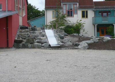 Gestaltung der Außenanlage der Walddorfschule