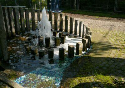 Springbrunnen – gestaltet von Hubert Wendler aus Schondorf
