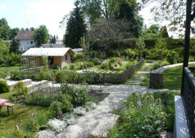 Garten mit Gartenhäuschen näche Schondorf