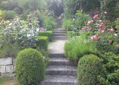 Privat Garten geplant von Hubert Wendler